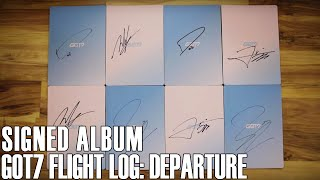 Signed GOT7- Flight Log: Departure | WE'RE GOT7 TRASH