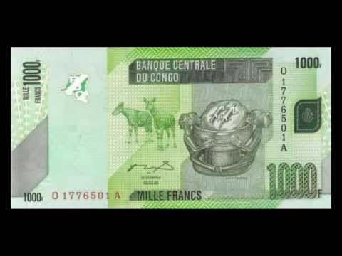 All Banknotes Of Congolese Franc - DR Congo - 50 Francs To 20.000 Francs - 2005 To 2013 Issue In HD