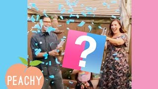 IT'S A.....💖💙?! | Funny Surprise Gender Reveal Videos