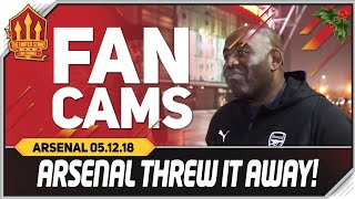 AFTV's Robbie, We threw it away! Manchester United vs Arsenal 2-2 Fancam