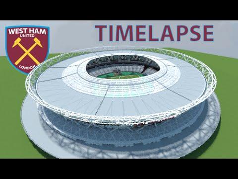 mercedes benz stadium minecraft. Minecraft - TIMELAPSE London Olympic Stadium (West Ham United FC) + DOWNLOAD [ Mercedes Benz