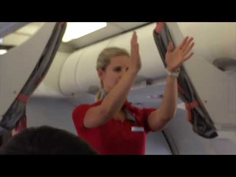 Austrian Airlines Flight from Amman,Jordan to Vienna Austria