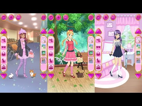 Anime Dress Up Games For Girls Android Gameplay