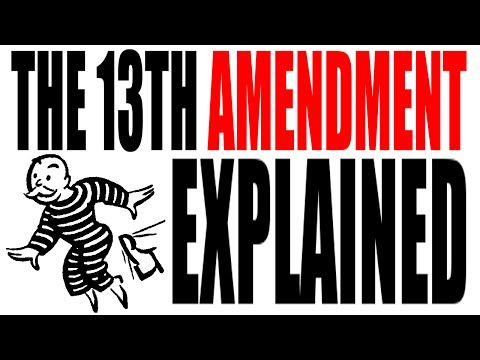 The 13th Amendment Explained: The Constitution for Dummies