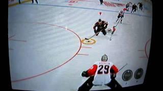 Amazing NHL 2K11 Game Winning Goal!