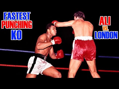 Ali Vs London, The Fastest Punching KO