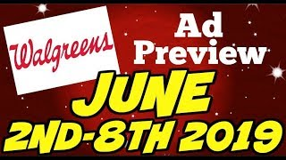 Walgreens Ad Preview Chit Chat June 2nd-8th 2019
