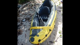 intex k2 explorer inflatable kayak my review
