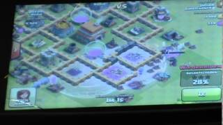 Clash of Clans Epic fight fight #6 Magier!