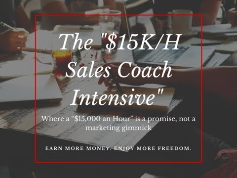 Build Your Own Sales Training Business kick-Off