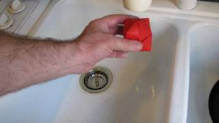 Make An Origami Water Bomb