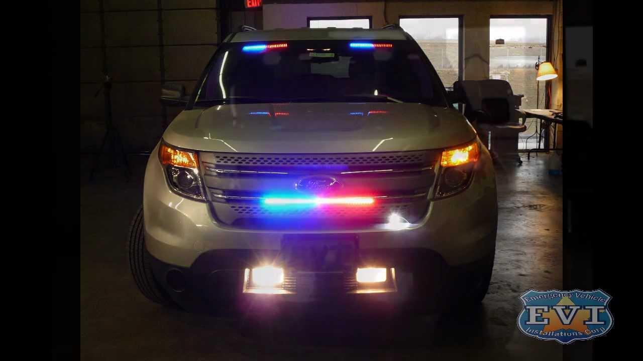 Undercover 2012 Ford Explorer Evi Built Youtube