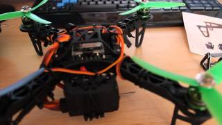 HobbyKing FPV 250 Quadcopter Review Turnigy Stuff!