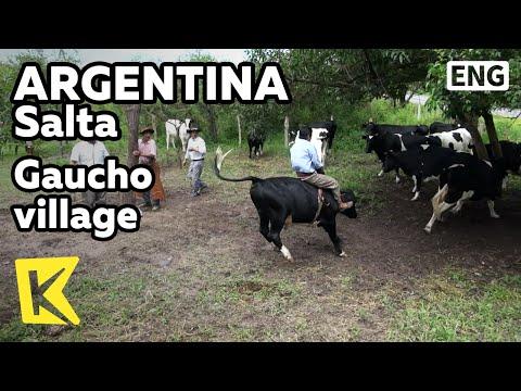【K】Argentina Travel-Salta[아르헨티나 여행-살타]가우초 마을, 전통 성인식/Gaucho village/Horse/Coming of age ceremony