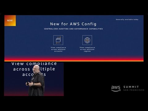 AWS Summit San Francisco 2018 - Announcing AWS Config