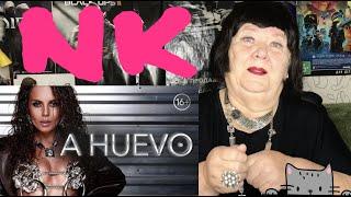 NK - A HUEVO (OFFICIAL VIDEO) | 16+ Реакция на Настя каменских ахуэво