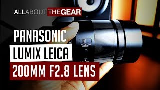 A Look at the Leica 200mm f2.8 Lens - All About the Gear