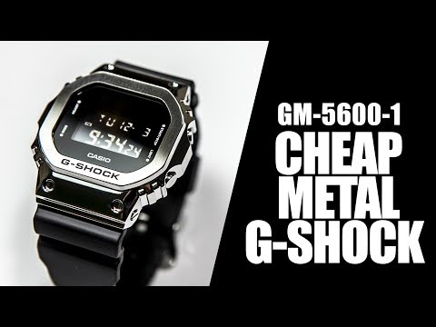 CHEAP METAL G-SHOCK - CASIO GM-5600-1 - REVIEW