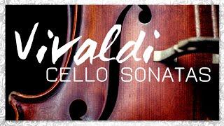 Vivaldi Cello Sonatas - Classical Baroque Music | Reading Focus Melancholic Meditation Relief