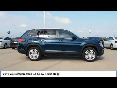 2019 Volkswagen Atlas 3.6 SE w/ Technology [LISTING TYPE] KC609329