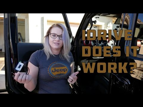 iDrive Throttle Controller for Jeep Gladiator on 37&39;s  DOES IT WORK  Install and Review