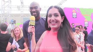 Kids Choice Sports Awards Interview with Corey Brewer