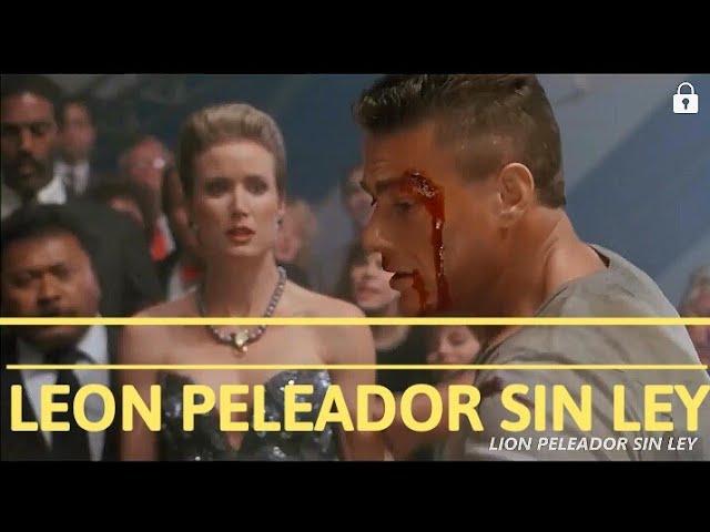 Leon Peleador Sin Ley Jean Claude Van Damme Youtube