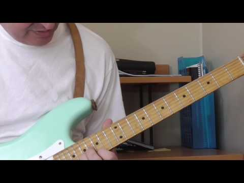 Freddy King Guitar Lesson - In The Open Part 2