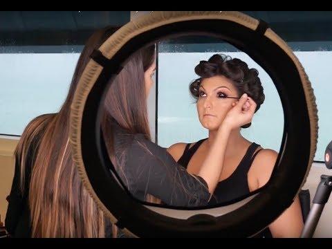 Makeup Artist Wedding Vlog - Pro Makeup Artist & Hair Stylist   PowerHouseBeauty