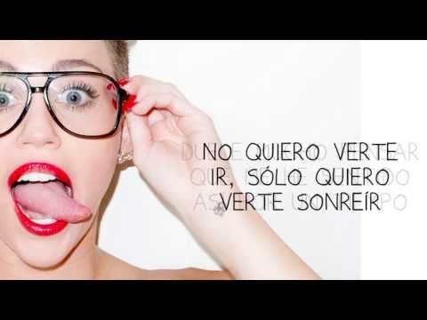 \ (•◡•) / - Someone Else - Miley Cyrus Traducida Letra En Español \ (•◡•) /