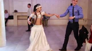 Шоу  на свадьбе Восточная танцовщица 05.11.16