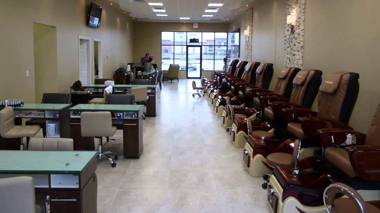 James\' Nail Salon - James Nice One Nails - YouTube