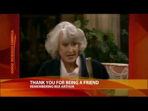 Remembering Bea Arthur