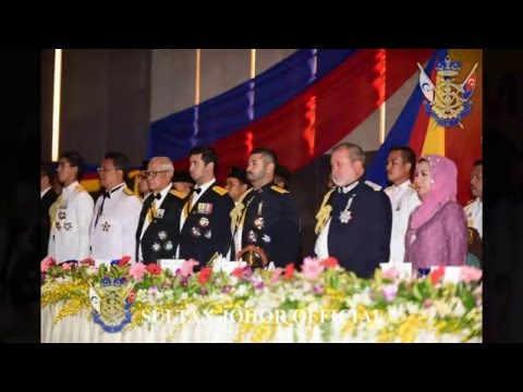 Sultan of Johor : Fire and Rescue Department of Malaysia, Mess Night, Thistle, Johor Bahru, May 2016