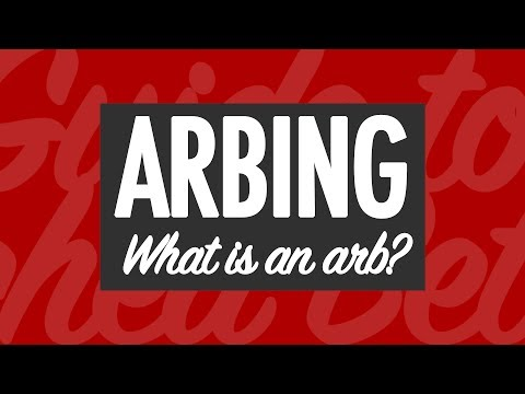 ARBING: How to Make Money via Arbitrage Betting