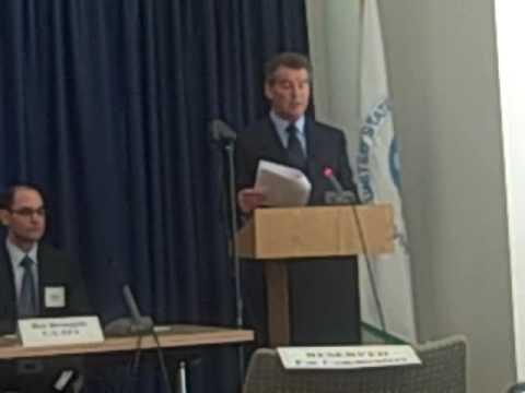 Pierce Brosnan Testifies at EPA Climate Change Hearing