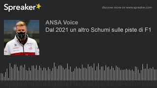 Dal 2021 un altro Schumi sulle piste di F1