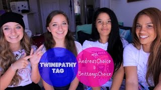 Twinepathy Tag w/ AndreasChoice & BrittanysChoice Thumbnail