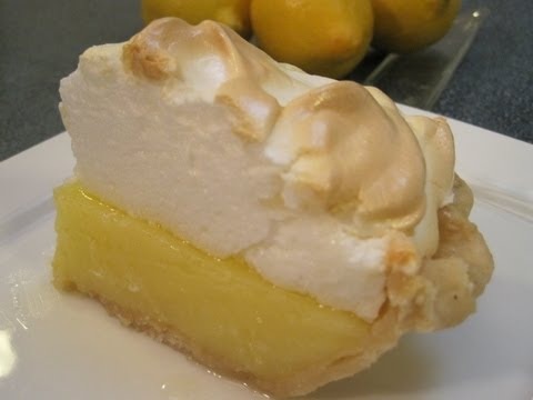 LEMON PIE FILLING with MERINGUE TOPPING - How to make Lemon Filling and Meringue Recipe