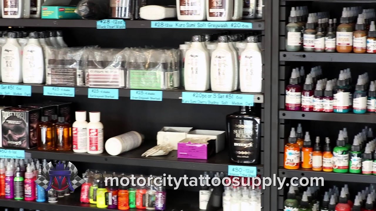 motor city tattoo supply 2 youtube