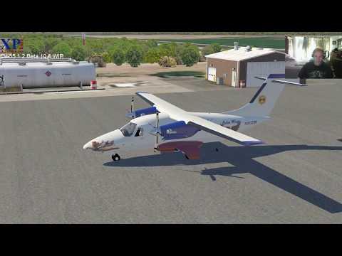 X-Plane Adventures: EV-55 Ver. 1.2 Beta 10.6 sneak peek