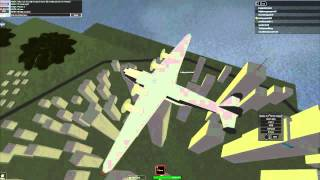 Wingz World V Plane Review - Boeing 314 Clipper (Roblox)