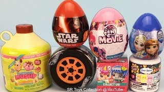 Kids Surprise Toys Smooshy Mushy, The Wiggles, Disney Frozen, Care Bears, Hot Wheels and Star Wars