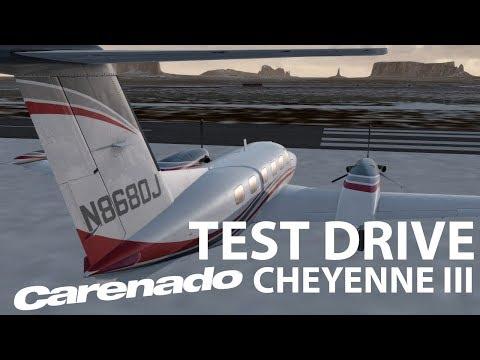 Test Drive   Carenado Cheyenne III