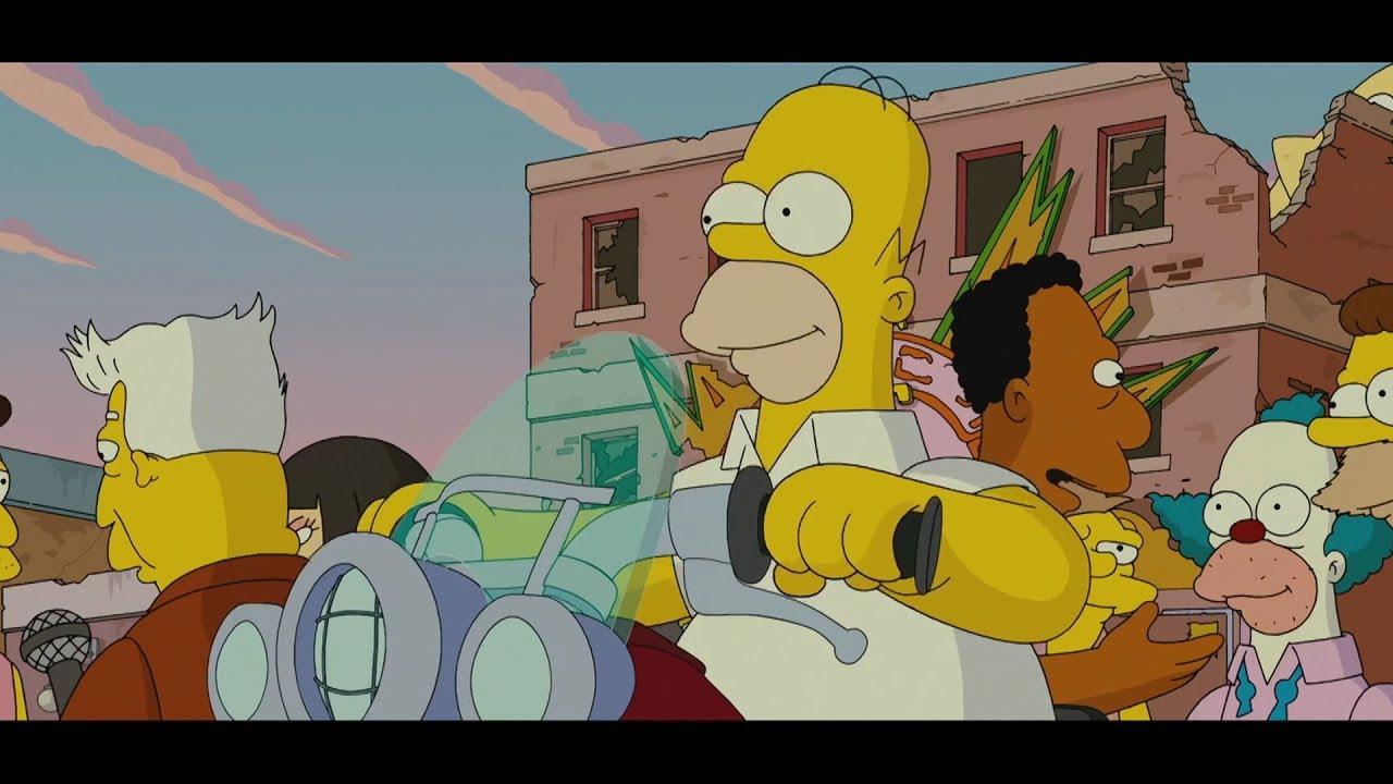 The Simpsons Movie Alternate Ending Youtube