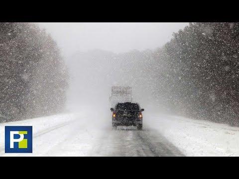 """Así es la """"bomba meteorológica"""" que llevó nieve a Florida casi 30 años después"""