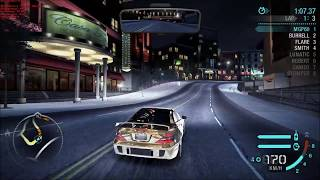 Need For Speed Carbon - Race Wars Silver [1080p60 - GTX 1080 - 35/50]