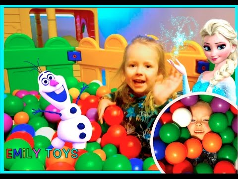  Emily Magic Balls Playground Fun Play Place for Kids | Indoor Playground for Kids | EMILY TOYS 
