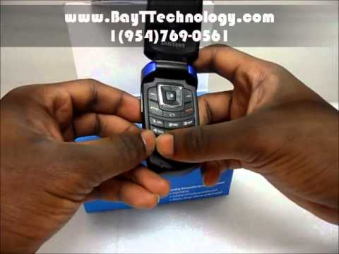 Samsung SGH-A167 Blue AT&T Cellular Phone
