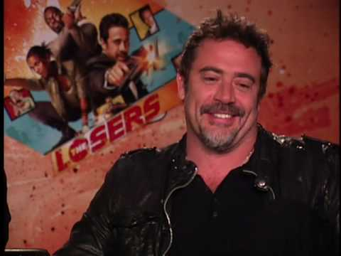 The Losers Junket Interview Jeffrey Dean Morgan Zoe Saldana Idris Elba PART 1